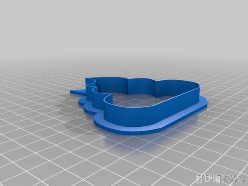 饼干模型切割刀 3D模型  图9