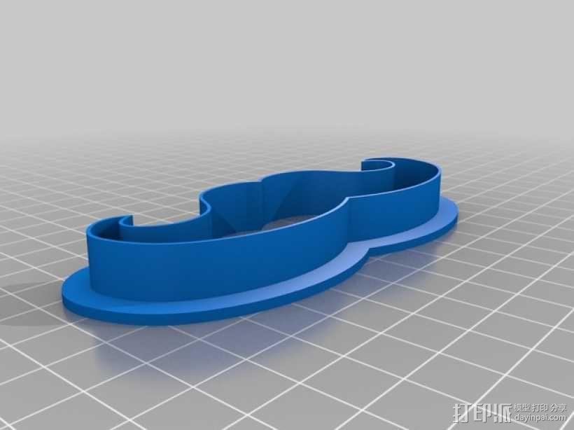 饼干模型切割刀 3D模型  图12