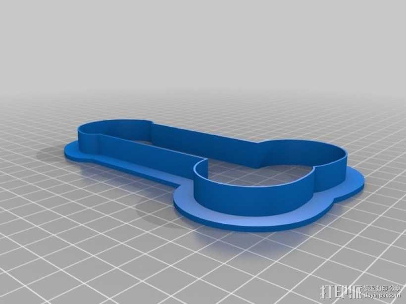 饼干模型切割刀 3D模型  图13