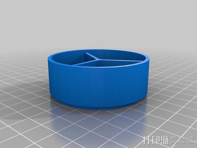 迷你药盒模型 3D模型  图5