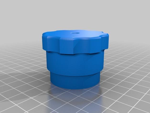 简易肉丸制作模具 3D模型  图1