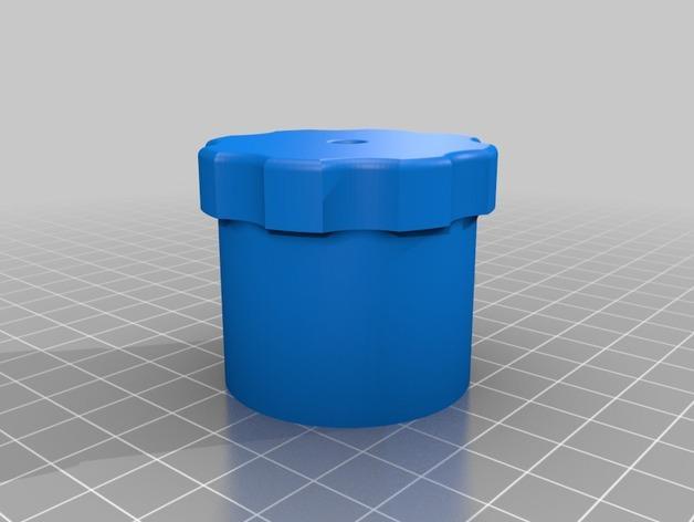 简易肉丸制作模具 3D模型  图2