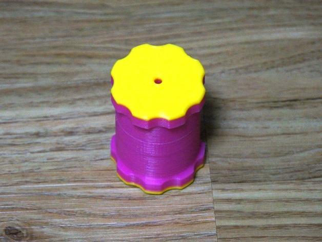 简易肉丸制作模具 3D模型  图5
