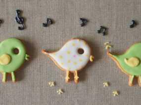 小鸟形饼干制作切割刀 3D模型