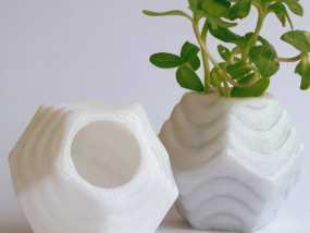 Plantekka十二面体花盆 3D模型