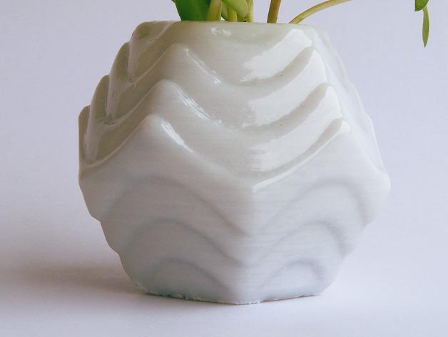 Plantekka十二面体花盆 3D模型  图3