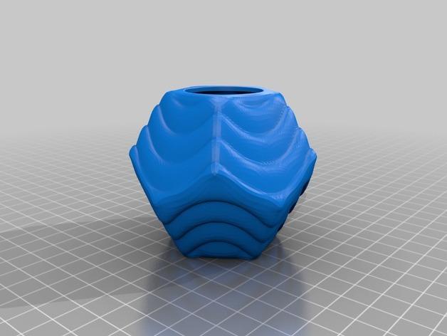 Plantekka十二面体花盆 3D模型  图6