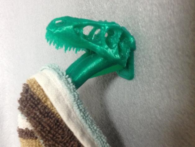 恐龙形浴室用品四件套 3D模型  图5