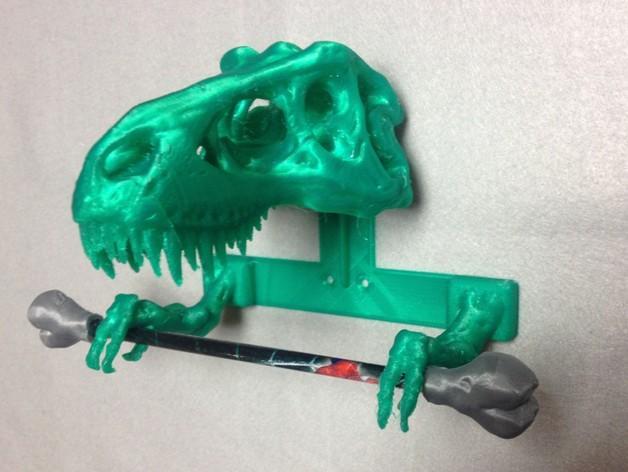恐龙形浴室用品四件套 3D模型  图6