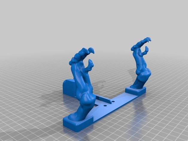 恐龙形浴室用品四件套 3D模型  图15