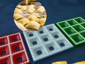 方形饺子制作模具 3D模型
