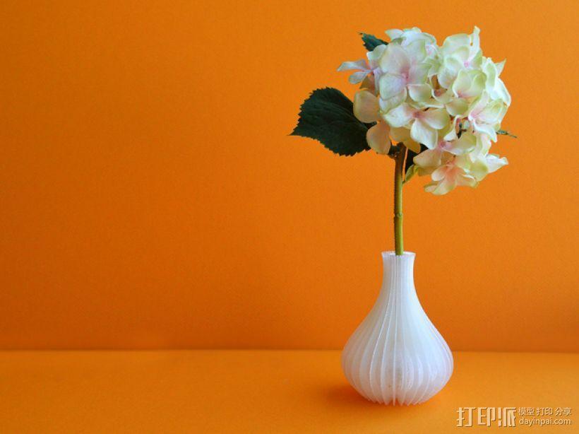 迷你花瓶 3D模型  图1
