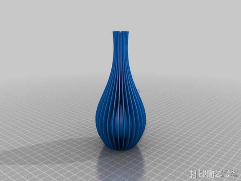 迷你花瓶 3D模型  图4