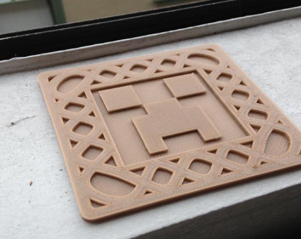 正方形游戏杯垫 3D模型  图7