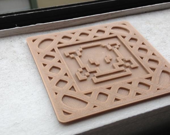 正方形游戏杯垫 3D模型  图10