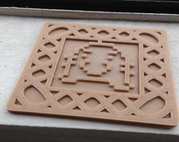 正方形游戏杯垫 3D模型  图9