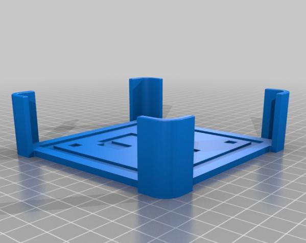 正方形游戏杯垫 3D模型  图22