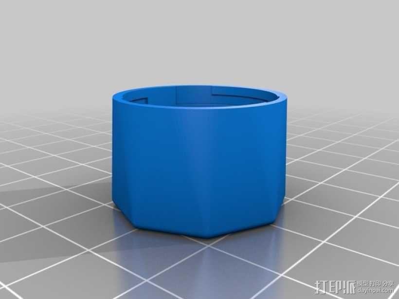 定制化卡扣式容器 3D模型  图6