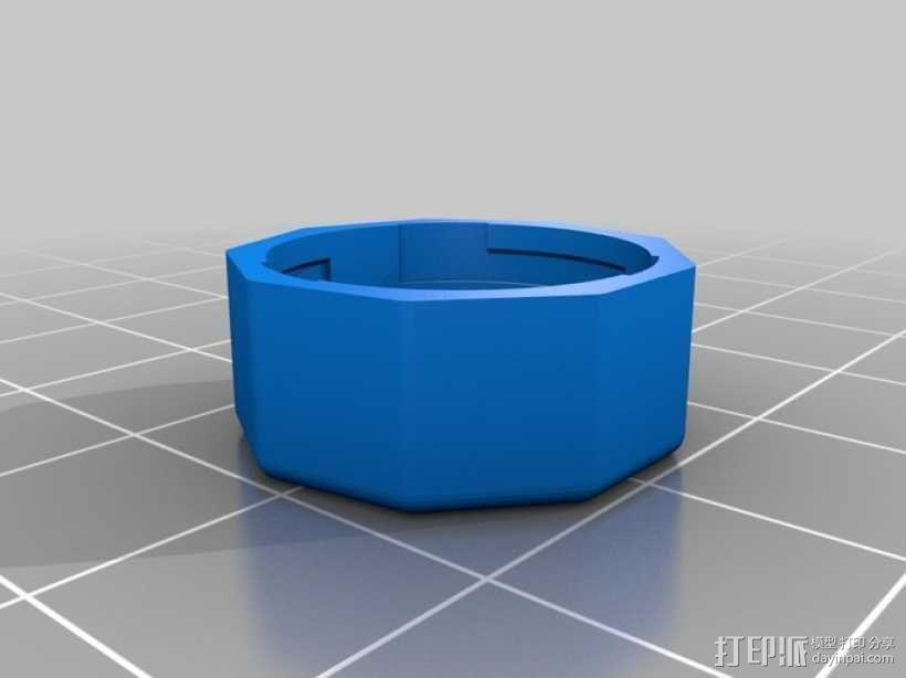 定制化卡扣式容器 3D模型  图8