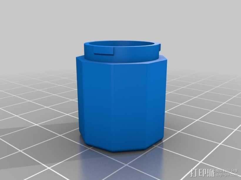 定制化卡扣式容器 3D模型  图7