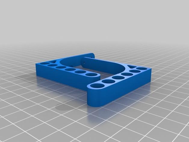 迷你铅笔架子 3D模型  图2
