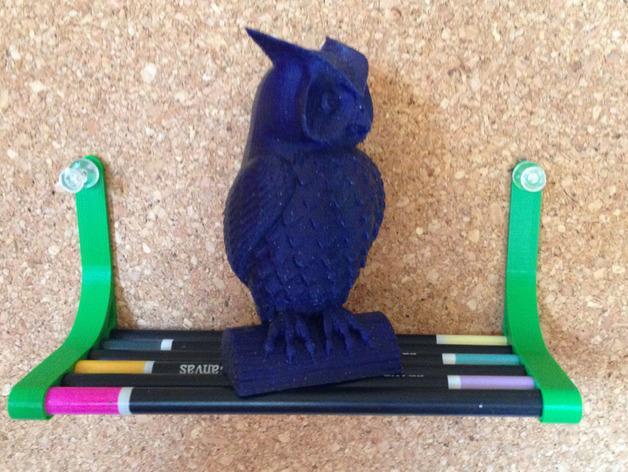 迷你铅笔架子 3D模型  图3