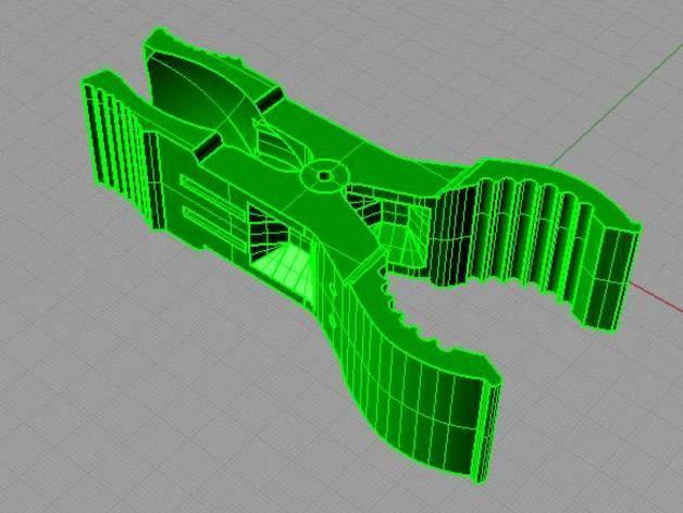 迷你实用夹子 3D模型  图3