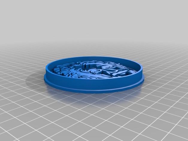 爱因斯坦饼干制作切割刀 3D模型  图3