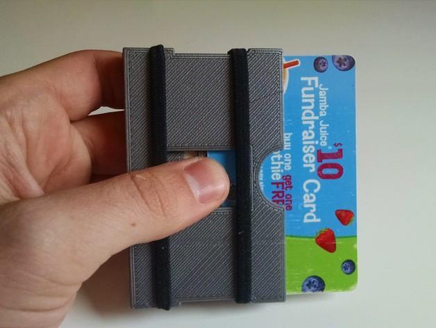 简约式钱包/名片盒 3D模型  图3
