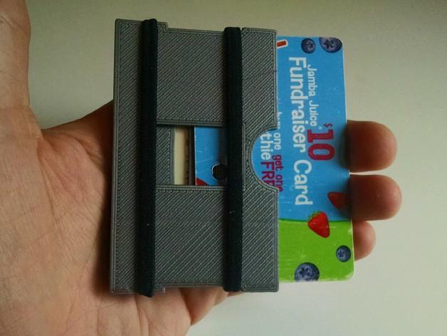 简约式钱包/名片盒 3D模型  图5