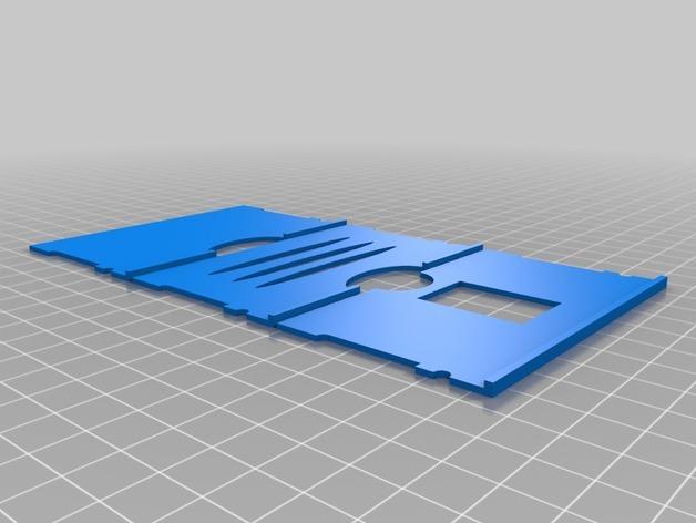 简约式钱包/名片盒 3D模型  图2