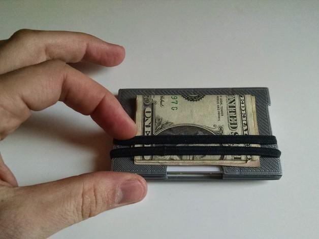 简约式钱包/名片盒 3D模型  图7