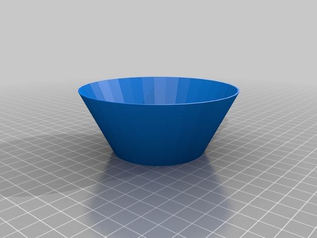 锥形过滤漏斗 3D模型  图2