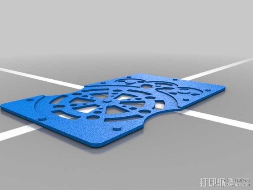 行星齿轮名片盒 3D模型  图3