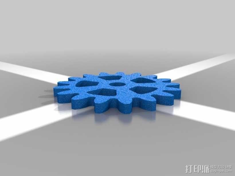 行星齿轮名片盒 3D模型  图8