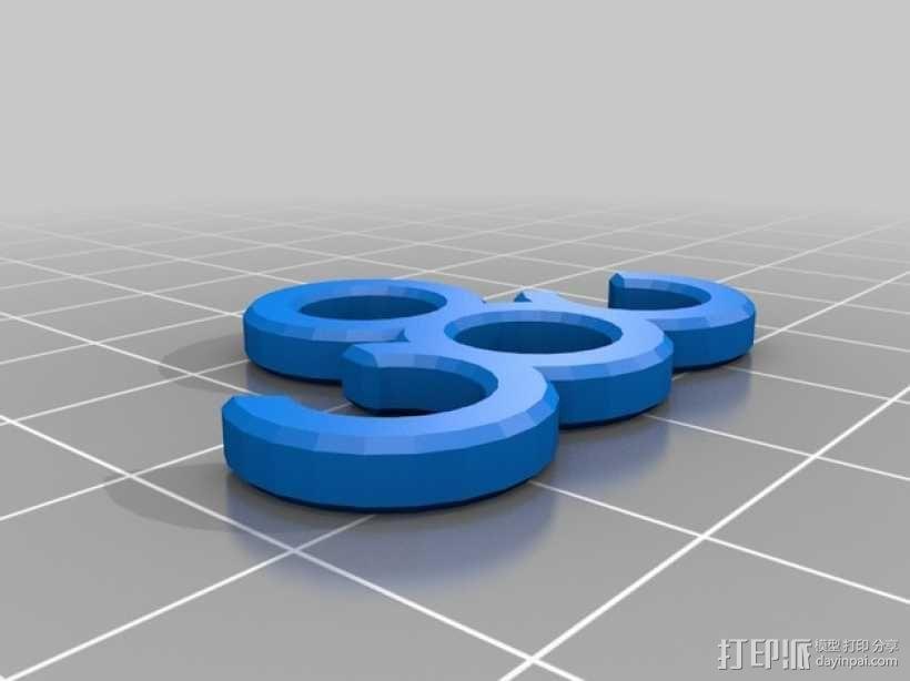 电线夹 3D模型  图3