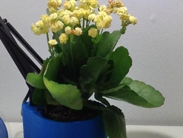 花盆 -- 灯架 3D模型  图3