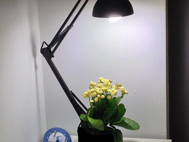 花盆 -- 灯架 3D模型  图4