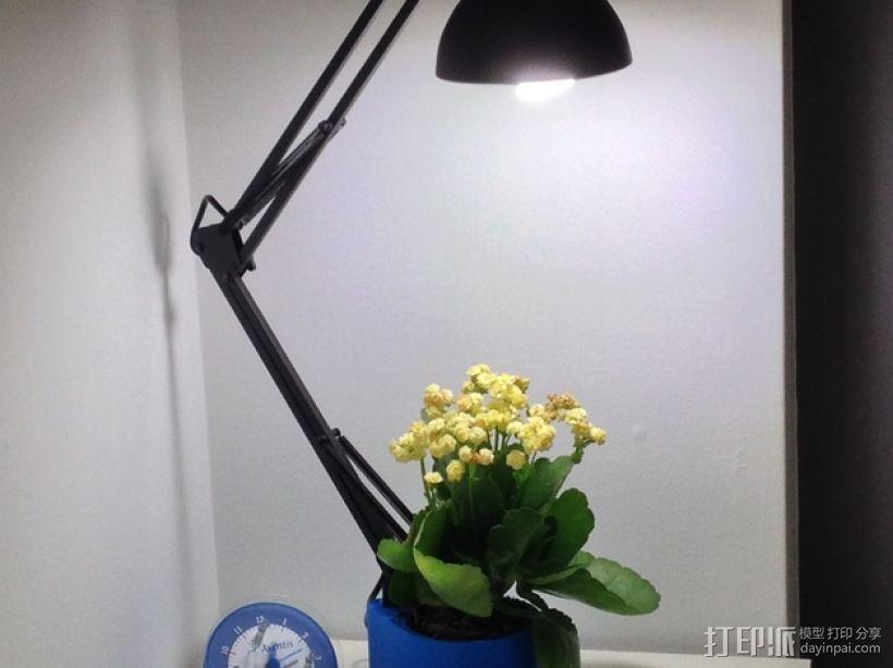 花盆 -- 灯架 3D模型  图1