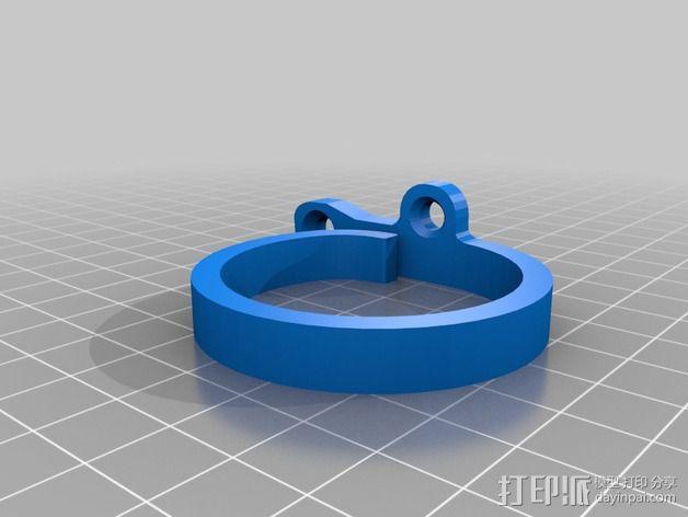 电线挂钩 3D模型  图2