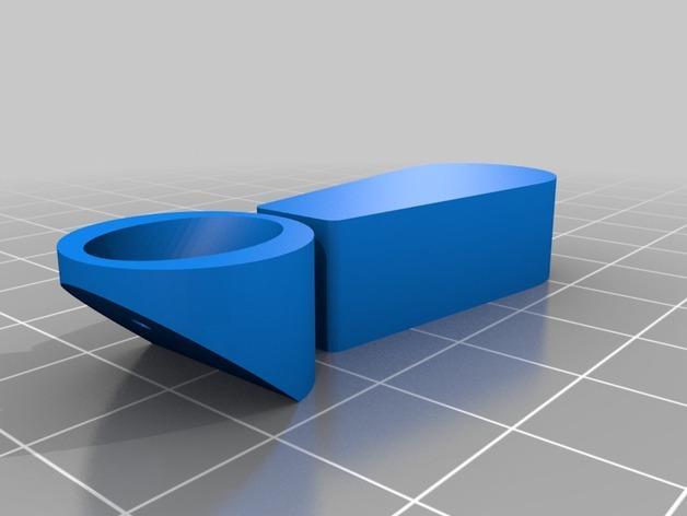 问号/感叹号形图钉 3D模型  图5