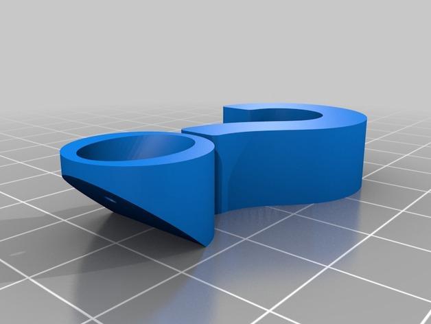 问号/感叹号形图钉 3D模型  图6