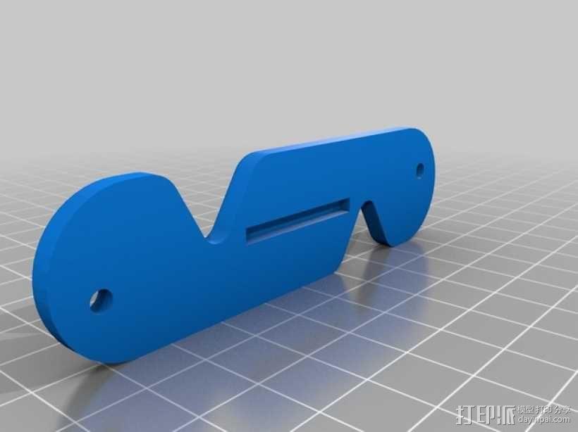 瑞士刀形钥匙环 3D模型  图5