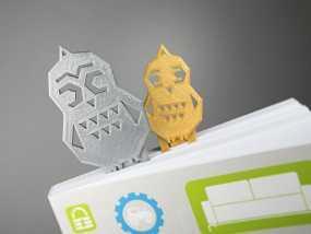 猫头鹰形书签#16 3D模型