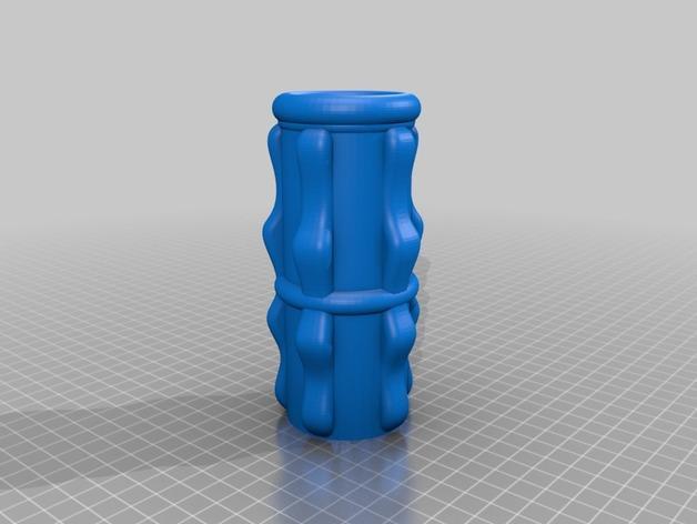 双给料盒的水烟筒 3D模型  图9