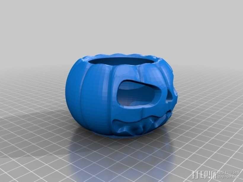 迷你南瓜灯/茶灯 3D模型  图5
