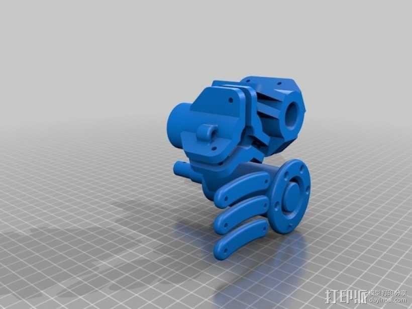爪形苹果采摘机 3D模型  图6