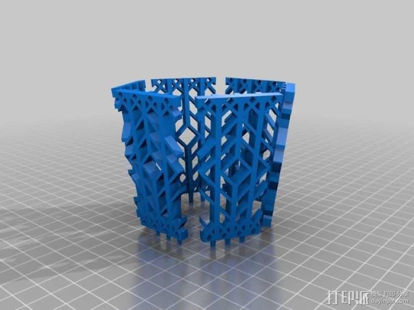 古典传统灯笼 3D模型  图2