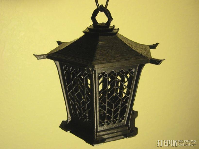 古典传统灯笼 3D模型  图1