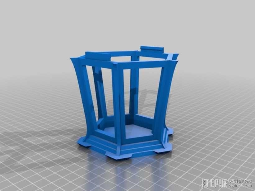 古典传统灯笼 3D模型  图3